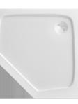 Brodzik pentagonalny niski 900x900mm Adda Atrium